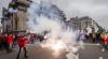 Haos în capitala Belgiei! SUTE DE OAMENI protestează față de ISIS și inacțiunile guvernului belgian