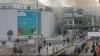 Imaginea care A ŞOCAT lumea după TEROAREA de la Bruxelles. Ce face un cuplu lângă un rănit care cere ajutor