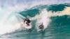 VIRAL pe web. Un surfer se ia la întrecere cu un delfin