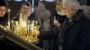 Zeci de enoriaşi s-au adunat la Mănăstirea Ciuflea pentru a se închina la icoana adusă de pe muntele Athos