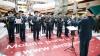 Flashmob într-un centru comercial. Orchestra Prezidențială a felicitat femeile cu ocazia zilei de 8 martie