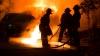 ALERTĂ în centrul Capitalei. Un automobil a fost cuprins de flăcări (VIDEO)