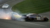 Accident grav în cursa de NASCAR din California! Un pilot s-a lovit violent de parapet