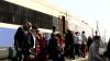 Trenul Unirii a ajuns la Iaşi! Moldoveni, dar şi localnici de la Tiraspol au sărbătorit marele eveniment