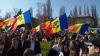 """""""UNIREA - ideal național"""" Mii de unioniști participă la un marș de amploare în Capitală (FOTO/VIDEO)"""