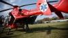 O tânără din Capitală, TRANSPORTATĂ DE URGENŢĂ cu un elicopter SMURD în România (VIDEO)
