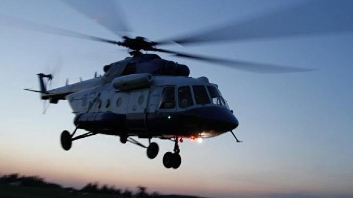 Accident aviatic în Rusia! Un elicopter al ministerului rus de Interne a luat foc într-o pădure