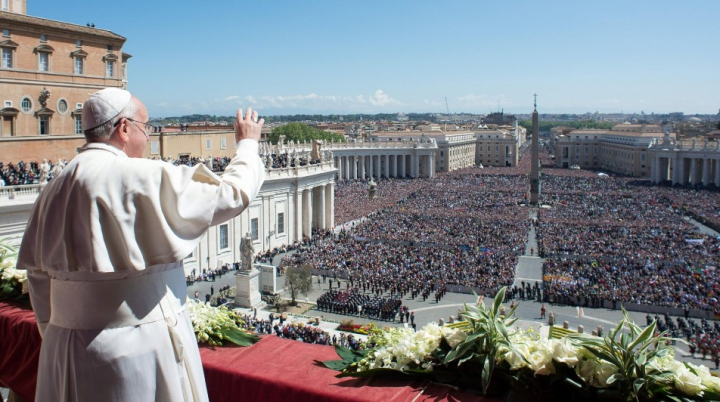 """Mesajul Papei Francisc la slujba de Florii: """"Nu le întoarceți spatele!"""""""