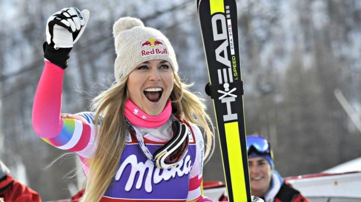 Lindsey Vonn, pregătită pentru a urca pe noi culmi ale performanţei sportive