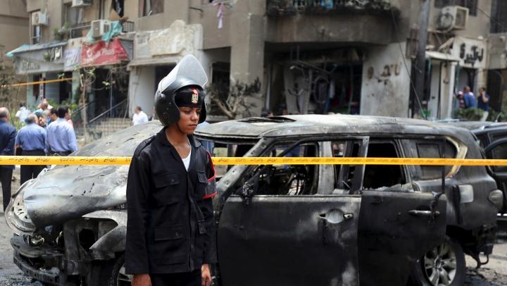 13 polițiști au fost uciși în urma unui atentat sângeros în peninsula Sinai