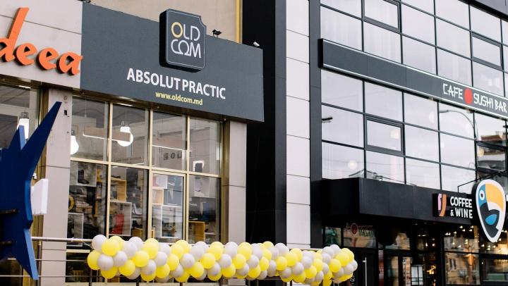 OLDCOM a deschis ușile unui nou magazin în Chișinău