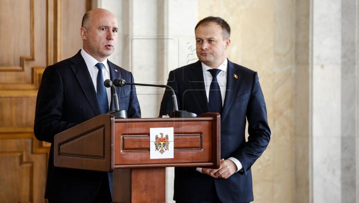 """""""E un progres deosebit!"""" DECLARAȚIILE lui Andrian Candu și Pavel Filip, după ședința comună"""