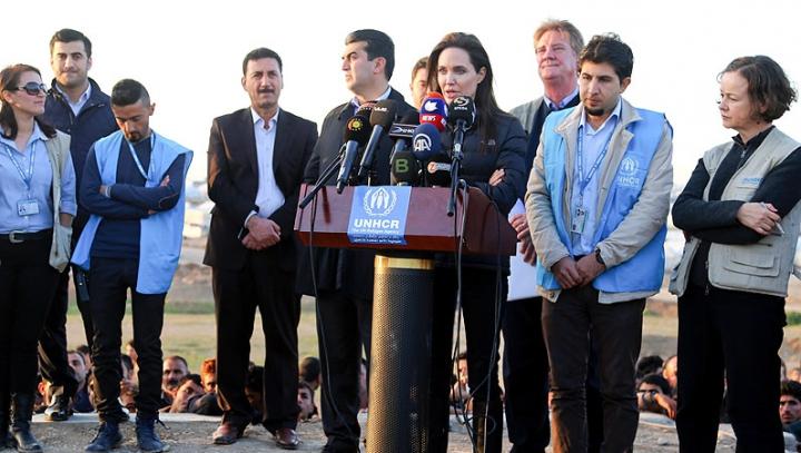 Războiul din Siria. Angelina Jolie face un apel către marile puteri: Dați dovadă că sunteți lideri!