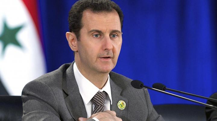 """""""El este criminalul!"""" Activiștii sirieni cer pedepsirea lui al-Assad pentru moartea a 50.000 de oameni"""