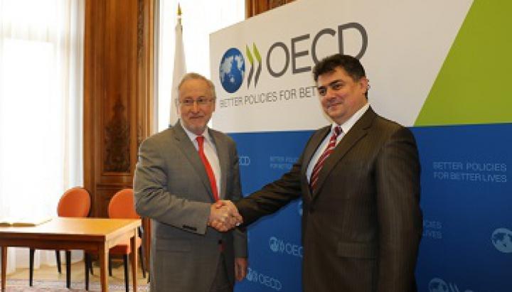 Consolidarea întreprinderilor mici şi mijlocii, DISCUTATĂ de vicepremierul Calmîc cu OECD