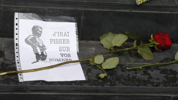 Întreaga lume a adus un OMAGIU victimelor atentatelor de la Bruxelles (GALERIE FOTO)