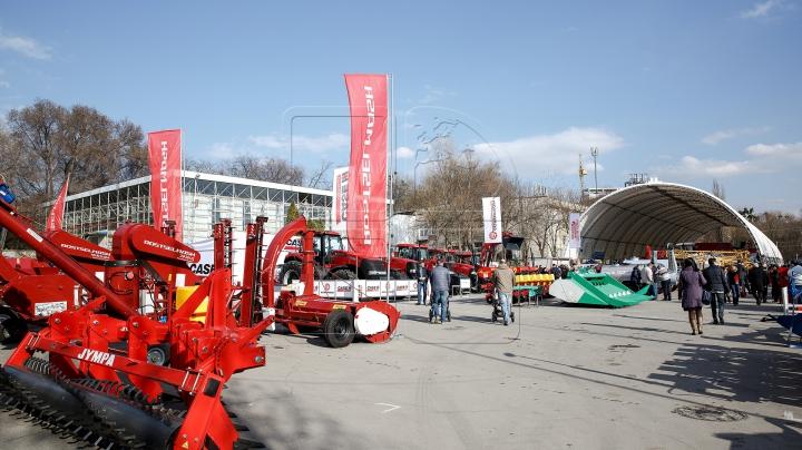 Cea mai mare expoziție de echipamente și tehnologii agroindustriale, deschisă la Chișinău (FOTOREPORT)