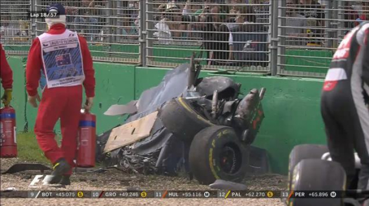 Pilotul spaniol de F1, Fernando Alonso, a scăpat NEVĂTĂMAT în urma unui ACCIDENT TERIBIL (VIDEO)