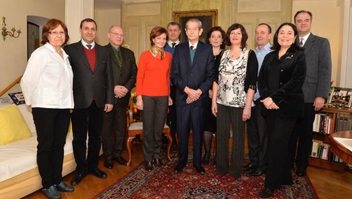Înconjurat de familie și prieteni! Ultimele imagini publice cu Regele Mihai (FOTOREPORT)
