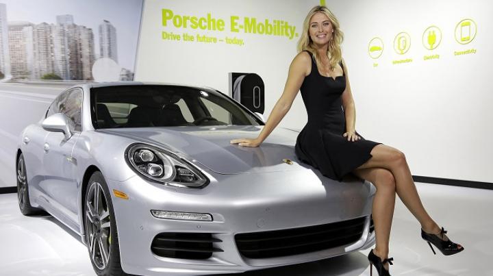 Maria Şarapova a rămas și fără contractul cu Porsche în urma scandalului antidoping