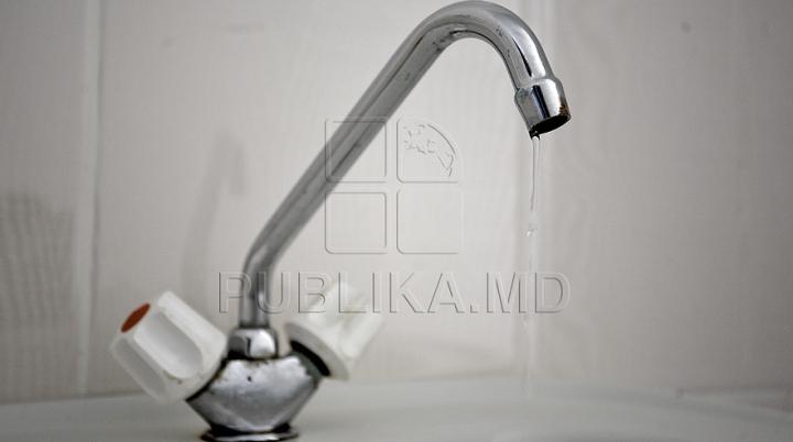 ATENŢIE! Mai mulţi locuitori din Chişinău şi Vadul lui Vodă vor rămâne fără apă la robinete