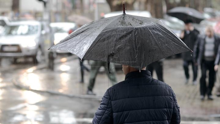 COD GALBEN DE VREME REA. Meteorologii anunţă precipitații puternice