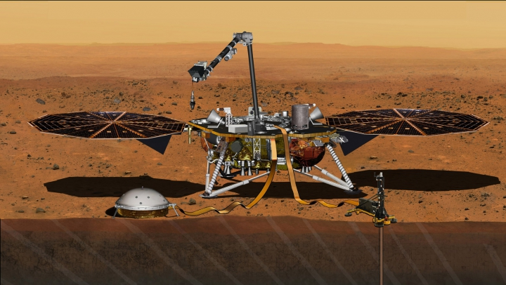 NASA vrea să repare satelitul InSight! Cercetătorii planifică o nouă misiune pe Marte (FOTO)