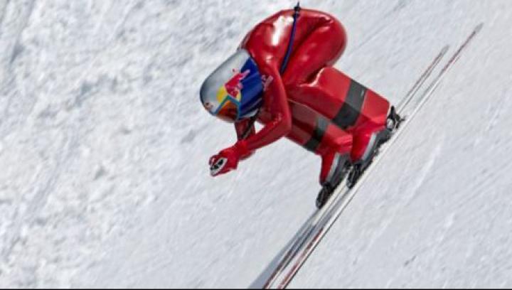 Ivan Origone a stabilit un nou record mondial de viteză pe schiuri