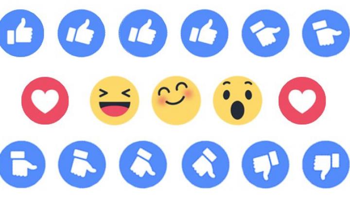 """O nouă funcție pe Facebook. Cum înlocuiești """"reacțiile"""" cu alte emoticoane"""