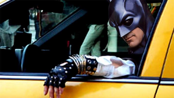 Batman s-a reprofilat! Supereroul a devenit şofer de taxi (VIDEO)