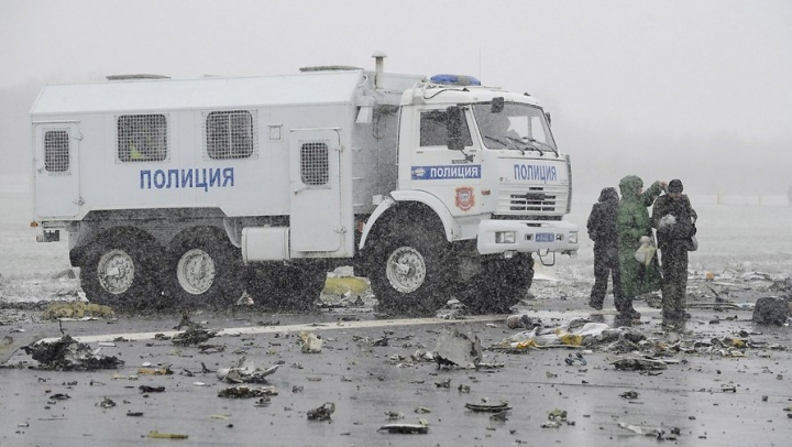 Tragedia aviatică la Rostov. Cutiile negre ale avionului au fost recuperate, însă sunt grav avariate