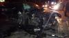 GRAV ACCIDENT în Capitală! Două maşini au fost făcut ZOB în urma impactului (FOTO)