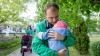 """""""Fericirea există"""". Nina Ștanski și Evgheni Șevciuk, la plimbare cu fiica lor, Sofia (FOTO)"""