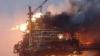 Un petrolier rusesc a luat foc în Marea Caspică! O persoană a murit, iar alte zece au fost evacuate