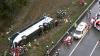 ACCIDENT GRAV: Cel puţin 22 de persoane au murit, după ce un autobuz a căzut de pe o colină
