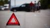 GRAV ACCIDENT în Capitală! Mai multe automobile s-au ciocnit în lanţ din cauza unui motociclist
