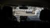 Împușcături în Capitală. Un șofer a trăit clipe de coșmar după ce s-a trezit cu parbrizul ţăndări (VIDEO)
