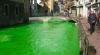 Imagini incredibile în Franța. Apele unor râuri au devenit verzi peste noapte (FOTO)