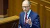 Premierul ucrainean Arseni Iaţeniuk ŞI-A DAT DEMISIA