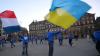 Flashmob la Amsterdam. Mai mulți tineri au dansat pentru un viitor mai prosper pentru Ucraina (VIDEO)