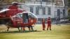 ALERTĂ! O femeie transportată de urgenţă la spital cu elicopterul SMURD (VIDEO/FOTO)
