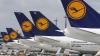 Grevă generală pe aeroporturile din Germania. Lufthansa a anulat 900 de zboruri