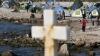 Eveniment istoric pe insula Lesbos. Imigranţii sunt vizitaţi de Suveranul Pontif