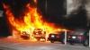 Vroia să vadă cum arde un rug! Un bărbat, reţinut pentru că a incendiat case şi maşini (FOTO)