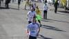 Fotbaliştii moldoveni s-au luat la întrecere cu maratoniştii