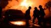 INTENŢII CRIMINALE! O mașină, incendiată din răzbunare în sectorul Botanica al Capitalei (VIDEO)