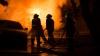 SCENĂ DE COŞMAR! Un SUV explodează într-un garaj cu pompieri (VIDEO)