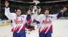 Hocheiştii de la Metallurg Magnitogorsk au sărbătorit la vestiar victoria în Liga Continentală