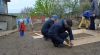 """Campania """"Paștele pentru fiecare"""": Patru familii din Rezina au primit cadouri"""