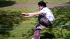 Cum ar fi să balansezi pe o funie la o înălţime de 60 de metri? (VIDEO)